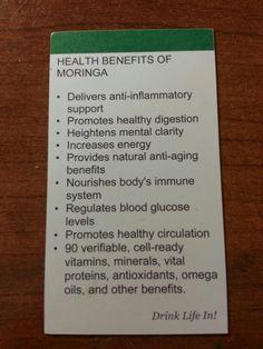 Health benefits of Moringa #zija