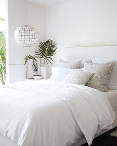 Schlafzimmer Deko Weiß