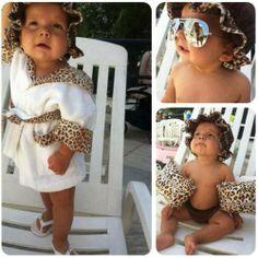 Leopard baby<3 Love it all.