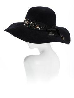 Fabulous, just fabulous -velour felt -Swarovski crystals and glass beadwork -adjustable fit, available in sizes. Luxury Hat by Hatmaker Jonathan Howard www.hatmaker.com.au #LuxuryHat #WinterRacing #WinterRaces #Hatmaker