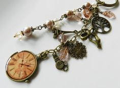 purse key chain charms | Key chain, accessories, purse charm, bag charm, gift for her, peach ...