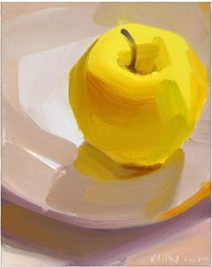 Art oil, art techniques, oil painting abstract, apple painting, fruit p Apple Painting, Fruit Painting, Oil Painting Abstract, Texture Painting, Painting Art, Texture Drawing, Painting Walls, Painting Furniture, Oil Paintings