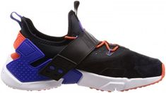 low priced f6092 1fb7d Men s Nike Sneaker Modello Air Huarache Drift Premium Black Orange Blue
