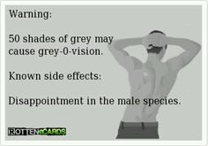 Warning: fifty shades of grey side effects