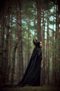 morrigan by Maryna Khomenko #fantasy #fairytale
