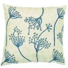 Blue Cow Parsley > Contemporary Cushions > Cushions > Home > Zaida UK Ltd