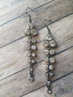 RECEIVE A FREE GIFT WITH ANY PURCHASE! https://www.etsy.com/listing/476585772/long-rhinestone-earrings-gifts-for-her