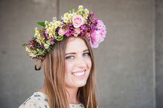 Flower Crown Bride, Most Beautiful, September, Day, Flowers, Flower, Blossoms