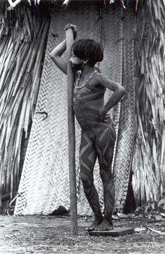 Assurini Tribe - Xingú - Brazil/Photo By Sebastião Salgado