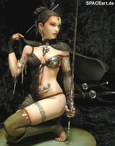 Luis Royo: The Touch of Ice, PVC Figur ... http://spaceart.de/produkte/lry020.php