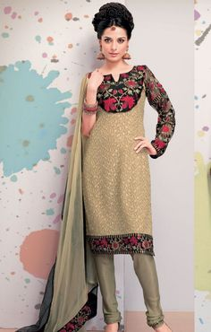 Latest Pakistani Salwar Kameez Designs 2014: With every passing day the designers are launching new styles and fashion but the trends of Churidar Salwar Kameez Designs is getting very famous among the women as they everyone want a new design and style of Churidar Salwar Kameez on her body...