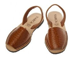Varca - Menorcan Sandals.  I should have bought them in Morocco.  They had so many colors.  love them!