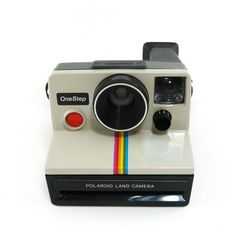 Vintage 1970s Polaroid OneStep land camera ($39) ❤ liked on Polyvore featuring camera, fillers, accessories, other and electronics