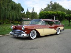 The Century Caballero Estate Wagon, GM's finest and most expensive station wagon, wore Buick's new styling very well. Especially noteworthy is the full 4 doo...