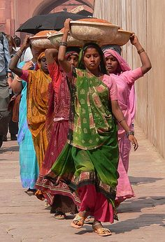 "A strong woman stands up for herself. Stronger woman stands up for everybody else."" ..... Spice girls in Agra, India."
