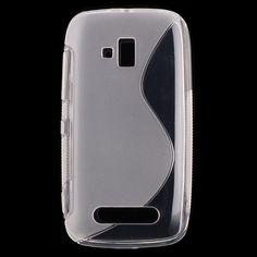S-Line Transparent (Transparent) Nokia Lumia 610 Cover