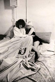 Debbie Harry +Joey Ramone