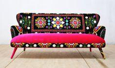 Suzani 3-seater sofa Spring by namedesignstudio on Etsy