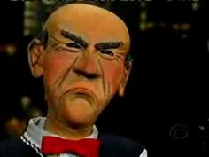 Jeff Dunham And Walter as guest on the David Letterman show Funny As Hell, Wtf Funny, Jeff Dunham Peanut, Jeff Dunham Achmed, David Letterman Show, Joke Of The Day, Make You Smile, I Laughed