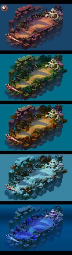 游戏场景规划图范例_天行者住所