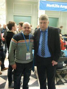 Ajedrecistas Baleares en el mundo: Antoni Nadal junto a Shirov en Polonia. #ajedrez #chess #escacs #4x1x64