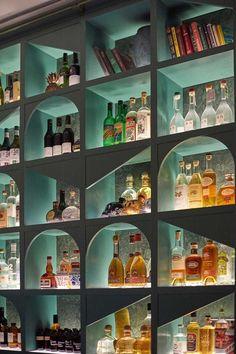 B is for Bar, Bottle Shop and Bold — Design Anthology Bar Interior Design, Pub Design, Design Salon, Restaurant Interior Design, Wine Shop Interior, Back Bar Design, Wine Bar Design, Pub Interior, Bottle Design