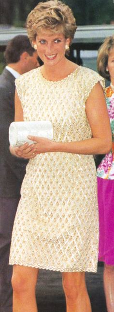 Princess Diana in Catherine Walker