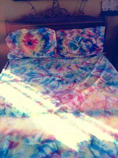 Tie dye sheets!