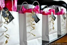 a {day} with lil mama stuart: 30th Birthday/Favorite Things Party {Pink, Gold & Glitter}