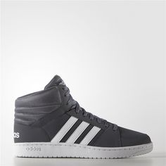 newest 71529 ff49a Adidas Hoops VS Mid Shoes (Onix   Running White   Running White) Adidas Neo