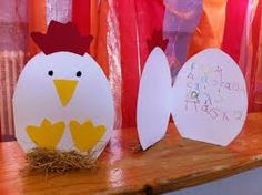 Easter card for children to make Easter Activities, Spring Activities, Preschool Crafts, Easter Arts And Crafts, Spring Crafts, Egg Card, Diy Ostern, Crafts For Boys, Unique Cards