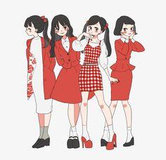 Keep A Sketchbook And Have Fun - Drawing On Demand Arte Fashion, Ideias Fashion, Friend Anime, Cute Art Styles, Anime Dress, Estilo Anime, Drawing Clothes, Anime Kawaii, Anime Outfits