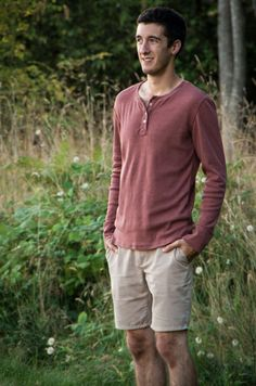 Strathcona Henley and T-Shirt & Jedediah shorts pattern