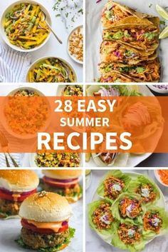 Easy breezy summer recipes, From Indian, Mexican to Honduran these delicious recipes are perfect for lunch, dinner and entertaining! #ministryofcurry #summerrecipes Easy Summer Meals, Summer Recipes, Easy Meals, Healthy Summer, Curry Recipes, Vegetarian Recipes, Healthy Recipes, Veggie Bean Burger, Indian Food Recipes