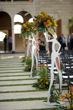 african wedding – tropical wedding decoration - Home Page Wedding Reception Themes, Outdoor Wedding Decorations, Wedding Colors, African Wedding Theme, African Theme, African Jungle, African American Weddings, African Weddings, Tropical Wedding Decor