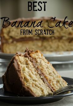 Best Banana Cake from Scratch via Personally Andera