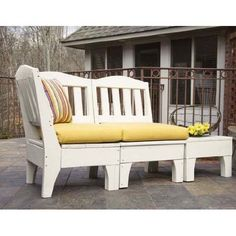 Uwharrie Westport 3 Piece Deep Seating Group with cushions Patio Chair Cushions, Outdoor Cushions, Patio Chairs, Outdoor Chairs, Outdoor Furniture, Outdoor Decor, Porch Furniture, Wood Patio, Corner Unit