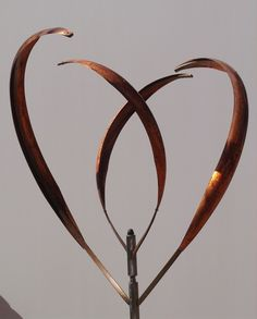 Blooming Lily 2 Kinetic Sculpture - Mark White   I love this !