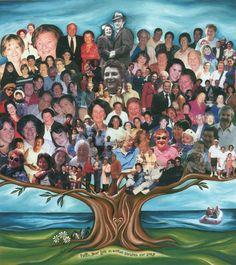 Fun Family Tree Idea    #FamilyTree #LDSFamilySearch