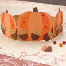 La couronne d'automne