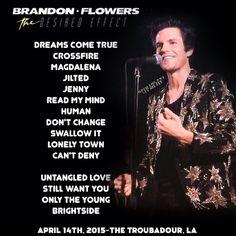 The Desired Effect - Brandon Flowers