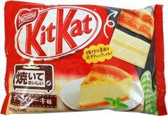 Nestle Bakable Kit Kat Cheese Cake $5.00 http://thingsfromjapan.net/nestle-bakable-kit-kat-cheese-cake/ #kit kat #Japanese snack #delicious Japanese snack