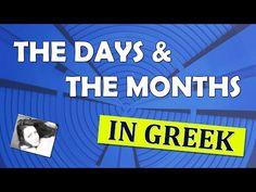 Learn Greek: Days of the week! - YouTube
