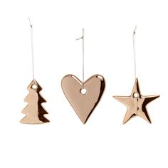 Ornaments for the christmastree <3 Design by Bloomingville