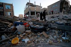 Iran-Iraq earthquake killed more than 170 people