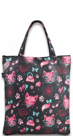Liquorbrand Miss Kitty Tote Bag | Blame Betty