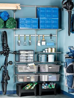 Garage Organization Ideas at WomansDay.com - How to Organize Your Garage - Woman's Day