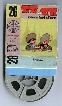 personaggi Carosello : Toto e Tata (Paul film : Cercatori d'Oro)