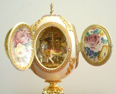 Featured Faberge Egg Piece... The Carousel Egg