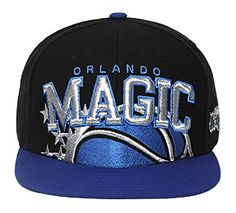 163c81b7431 47 Brand Blockhouse NBA Orlando Magic Snapback Black    Details can be  found by clicking on the image.